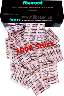 Romed Qualitäts-Kondome 1008 Multipack