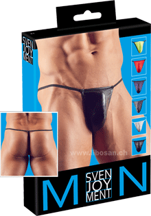 7er Pack Herren-Strings S-L