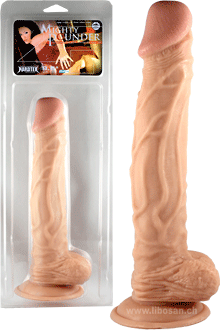 Dildo Penis mit Standfuss Mighty Pounder