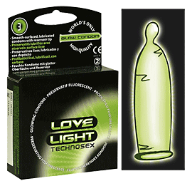 Love Light Glowkondom 3er