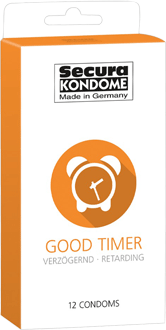 Secura Kondome Good Timer, verzögernd 12er