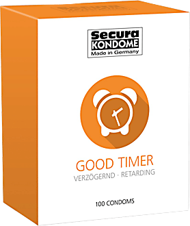 Secura Kondome Good Timer verzögernd 100er