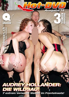 Hot-DVD 14 - Audrey Hollander: Die Wildsau!