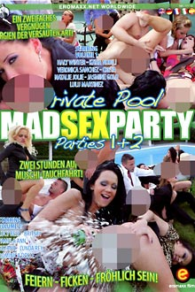 2 Filme DVD - Mad Sex Party - Private Pool Parties 1 + 2!
