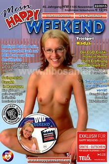 Mein Happy Weekend (Kontaktmagazin + DVD) - Nadja