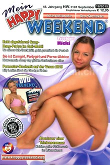 Mein Happy Weekend (Kontaktmagazin + DVD) - Nicki