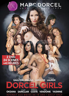 Dorcel Girls - Set 2 DVDs -
